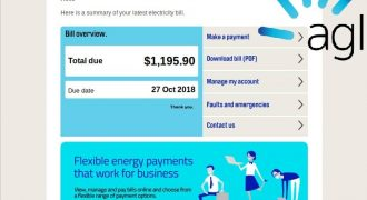 "AGL Fake Email (October 2018) – Note: no user-specific information – Source: <a href=""https://www.mailguard.com.au/blog/brandjacked-agl-electricity-bill-fake"" target=""_blank"" rel=""noopener"">MailGuard</a>"