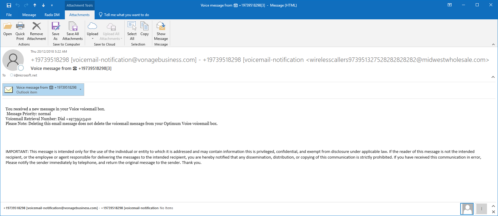 Recent email security threats – Sentrian Help